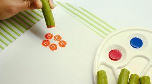 مهر بازی با سبزیجات