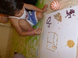 بازی با حبوبات